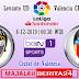 Prediksi Levante vs Valencia — 8 Desember 2019