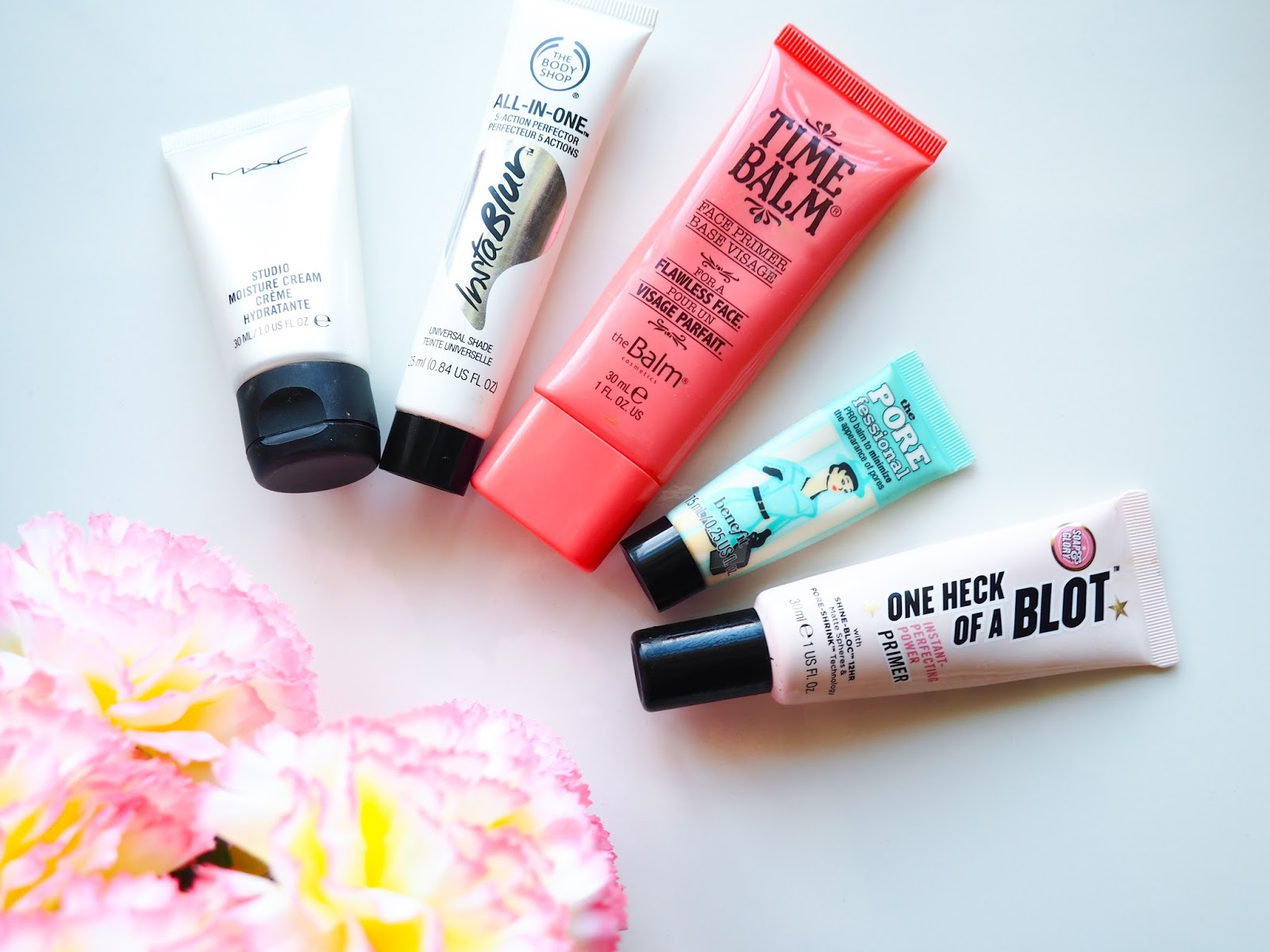 It's Cultured Primers Benefit Cosmetics, The Body Shop, The Balm and Mac