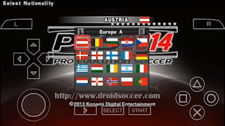 Download PES 2014 Lite by Technogamer PSP Android