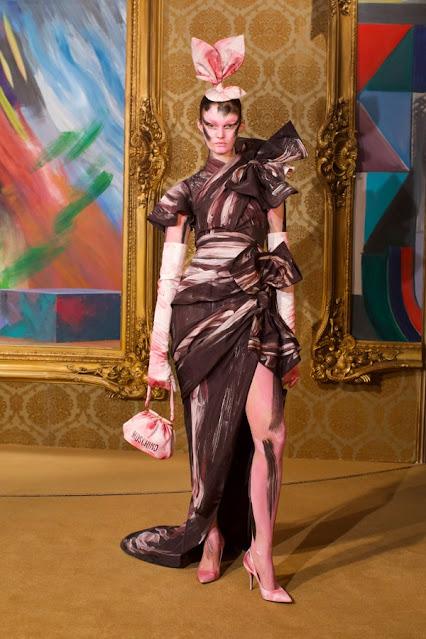 Moschino Fall Winter 2021 by Jeremy Scott in Milan Fashion Week by Kelly Fountain