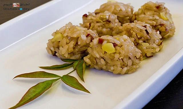 أطباق اليوم أرز بالفاكية