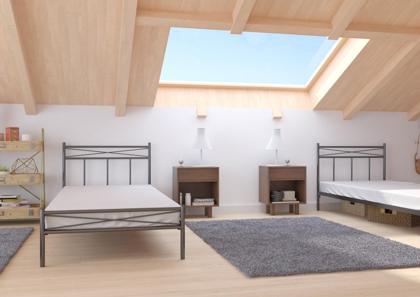 Łóżko metalowe wzór 23J