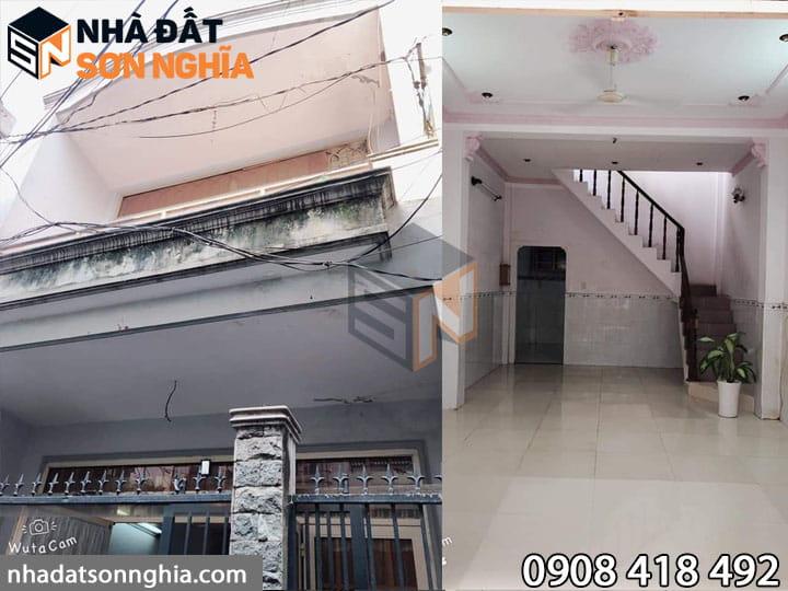 Nhà cấp 3 đường Quang Trung phường 10 Gò Vấp
