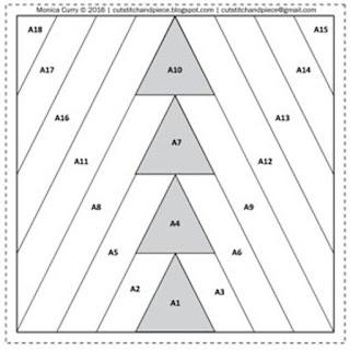 free arrow head quilt block