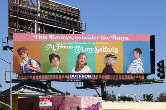 At Home Amy Sedaris season 2 Emmy nominee billboard