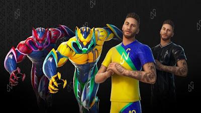 Neymar's character appeared in Fortnite Season 6