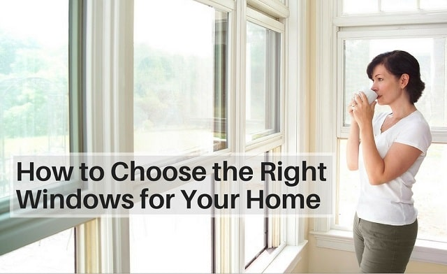 how to select right windows for home
