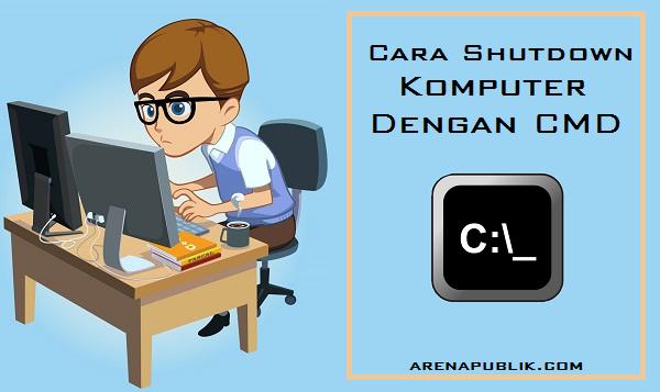Cara Mematikan Komputer Lain Dengan CMD