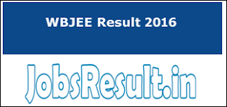 WBJEE Result 2016
