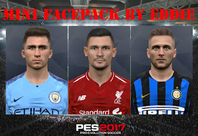 PES 2017 Mini Facepack by Eddie Facemaker