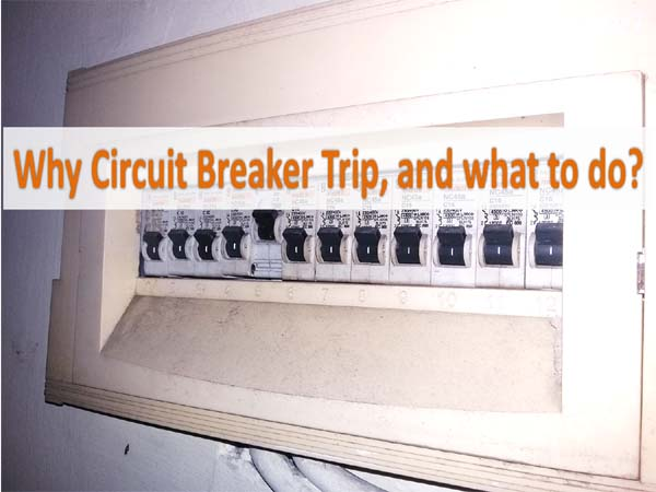 Solutions for Tripping Circuit Breaker at your Home iv Causes of Circuit Breaker at domicile Tripping, in addition to how to ready it