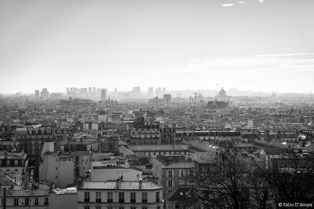 Panorama dalla Chiesa del Sacré Coeur-Parigi