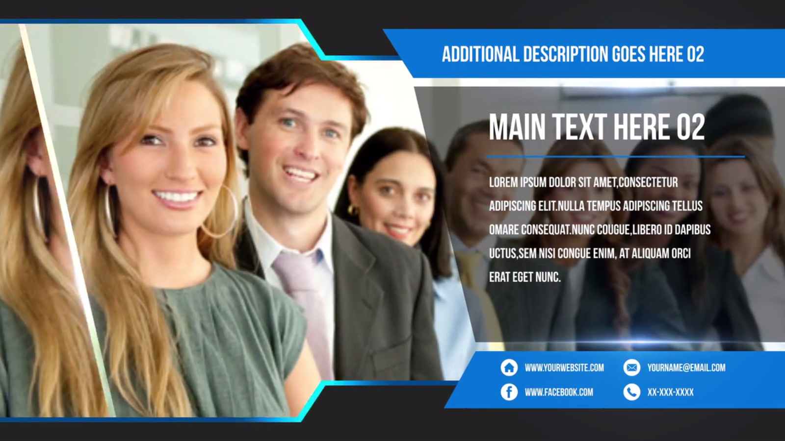 Free Download Corporate Promo Slideshow After Effects Templates - Awesome slideshow after effects scheme