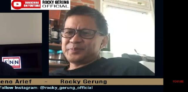 Rocky Gerung: Cara Presiden Jokowi Menghina Demokrasi Adalah Dengan Memamerkan Borgol