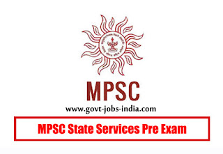 MPSC State Services Pre Exam