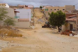 Mais uma rua é pavimentada no bairro JK em Picuí