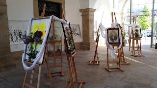 Photos: EVENT / Festival da Água e do Tempo, Clepsidra 2018 (13 - Exposiçã de Desenhos Originais, Lígia Fernandes, Edifício dos Paços do Concelho), Castelo de Vide, Portugal