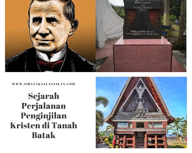 sejarah perjalanan penginjilan kristen di tanah batak