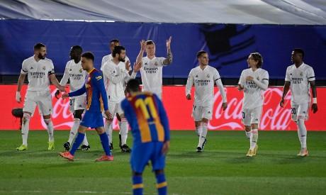 ريال مدريد ضد برشلونة