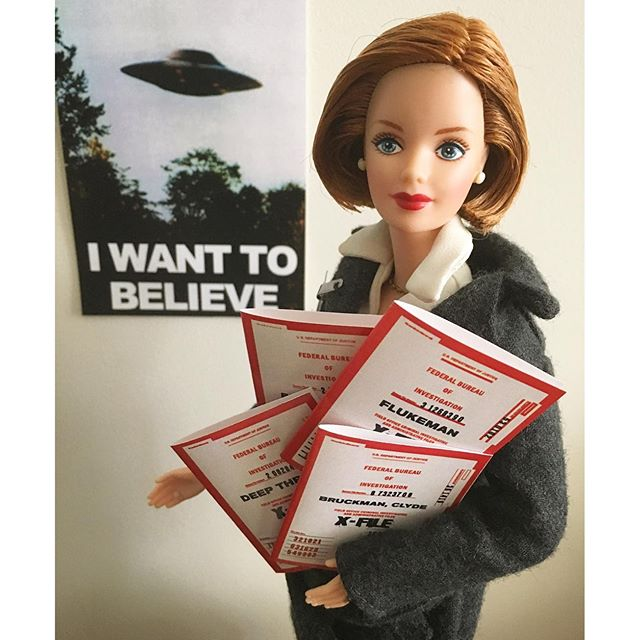 Barbie transformé en Scully