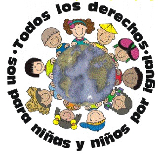 Dibujo alusivo al Día de los derechos del niño