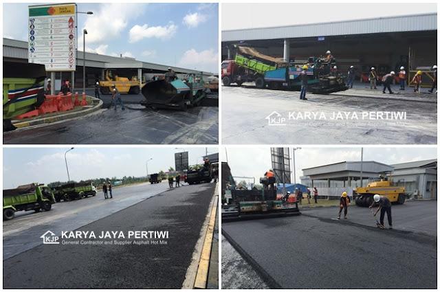 Kontraktor Pengaspalan Hotmix, Jasa Pengaspalan Jabodetabek Bandung Banten Jawa Barat Cirebon