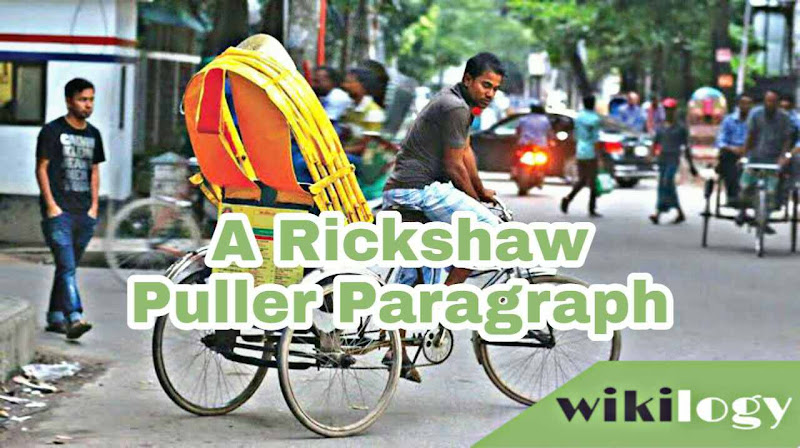 A Rickshaw Puller Paragraph