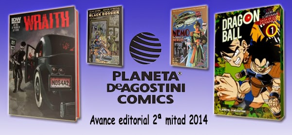 Planeta DeAgostini Cómics: Video-avance editorial de la 2ª mitad de 2014