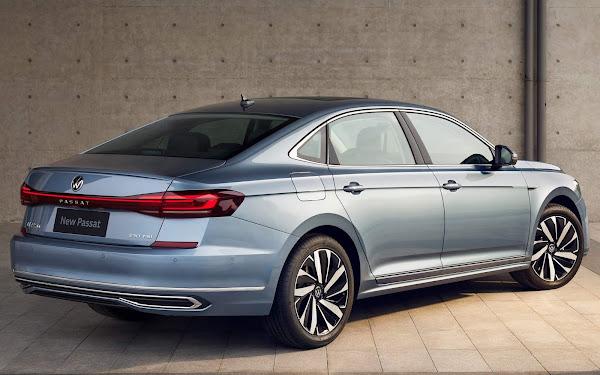Volkswagen Passat 2022 com facelift começa a ser vendido na China