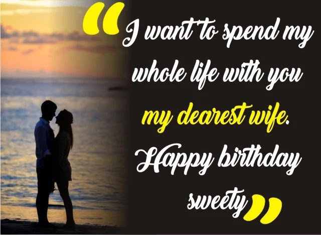 birthday wishes wife