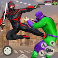 Ninja Superhero Fighting : City Kung Fu Fight Mod Apk