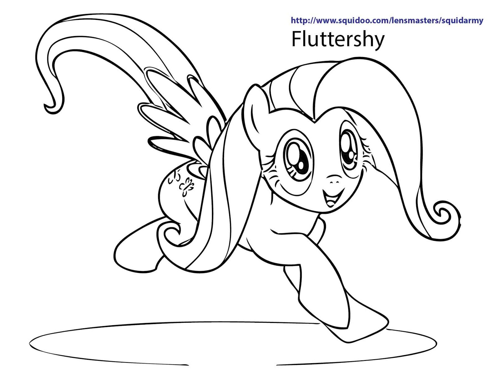 Jogo my little pony coloring pages jogos online wx for My little pony fluttershy coloring pages