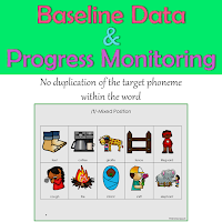Baseline Data and Progress Monitoring for Articulation