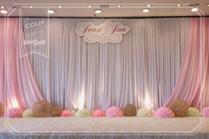 Wedding Decoration - colour theme: Pink @ Harbour Plaza Metropolis Kowloon