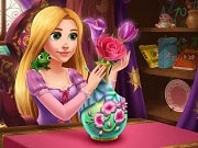 The always creative and curious Rapunzel stumbles upon an online crafts contest and signs up to win the big prize. Learn how to make a beautiful flower vase with Rapunzel and become the winner of the competition!