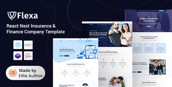 Best Insurance & Finance Company Template