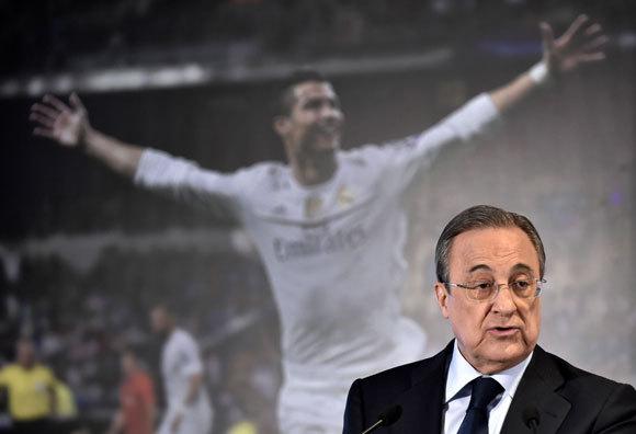 SBOBETASIA - F.Perez: Ronaldo Hanya Akan Pergi Jika Klausulnya Ditebus
