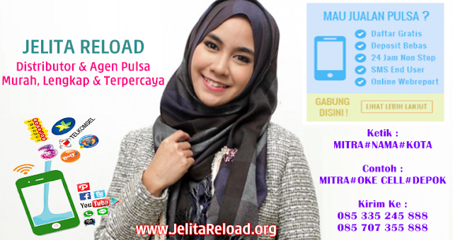 JelitaReload.org Adalah Web Resmi Server Jelita Reload Pulsa Murah CV Cahaya Multi Sinergi