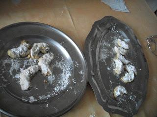 Biscuits allemands, petites lunes