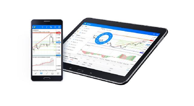 Cara Mengganti Background atau Latar Belakang Tampilan Chart MetaTrader 4 Android