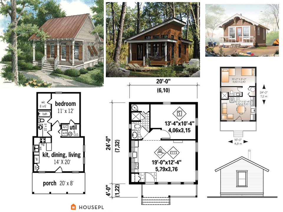 Beautiful House Design With Sketch And Floor Plan Trending