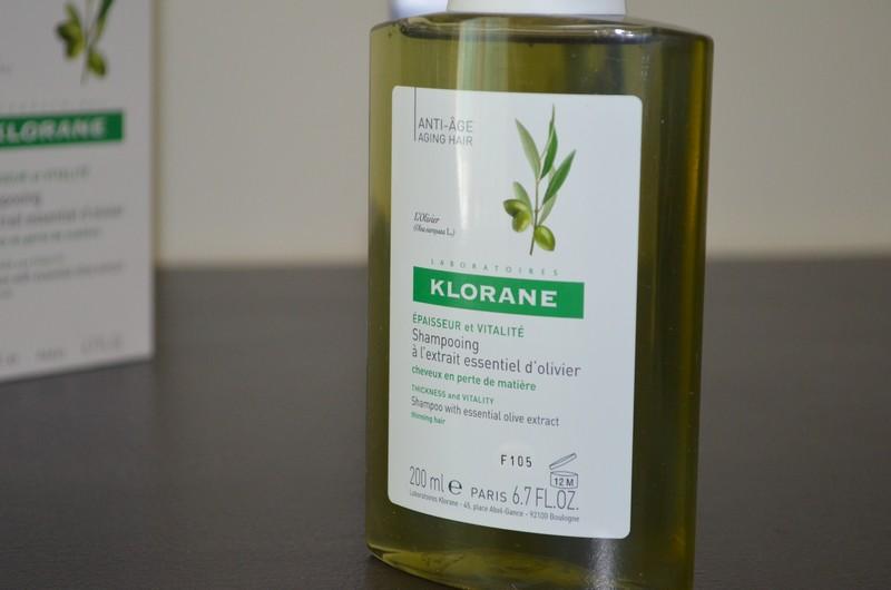 Shampooing à l'extrait essentiel d'olivier KLORANE