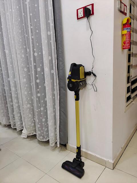 Pembersih Vakum Tanpa Kabel A&S A90 Plus Memudahkan Kerja Rumah Aku
