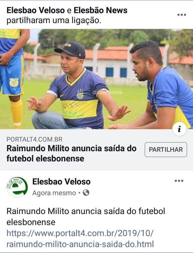 GIRA BOLA: Resumo das notícias esportivas em Elesbão Veloso e arredores nesta quarta-feira, 30 de outubro 2019