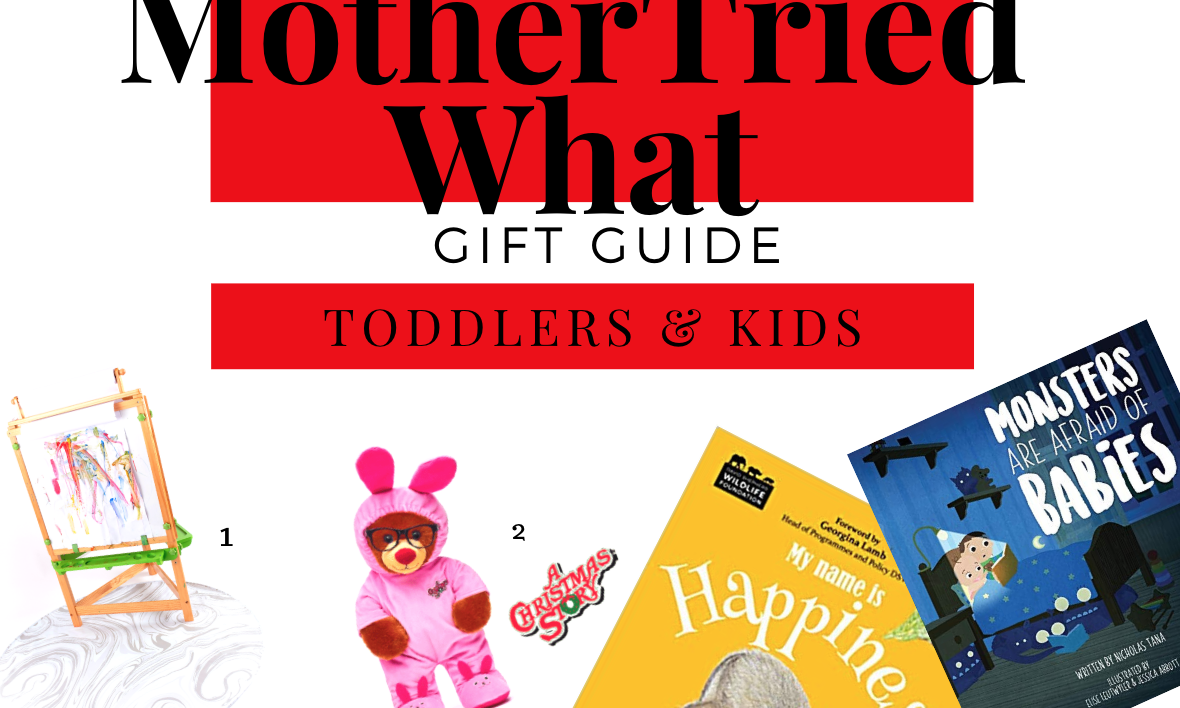 Gift Guide: Toddlers & Kids