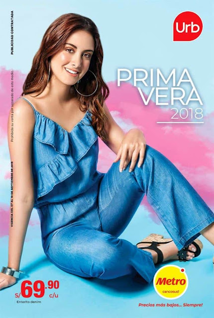 catalogo URB ropa de metro setiembre 2018