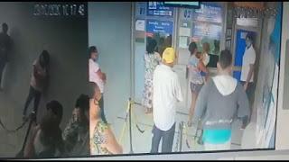 Casa lotérica é assaltada em Cacimba de Dentro PB, veja vídeo  da ação criminosa.