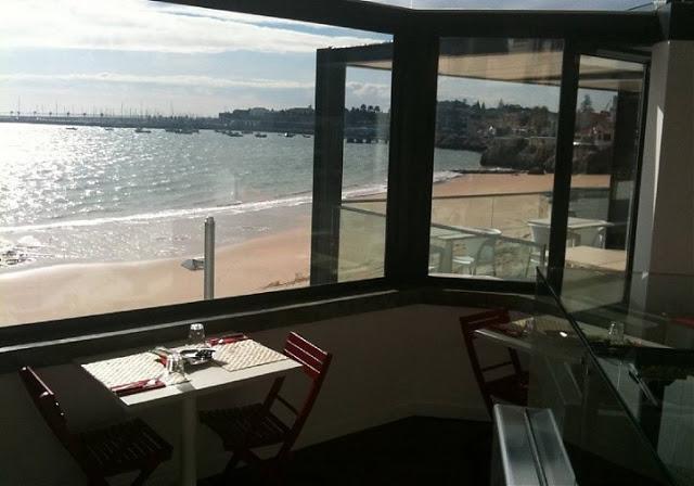 Sala do Restaurante Capricciosa Cascais