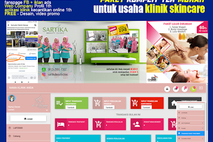 Aplikasi Klinik Kecantikan Skincare Murah di Indonesia