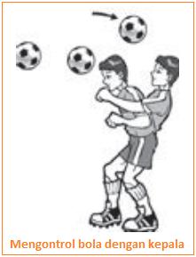 Mengontrol bola dengan kepala
